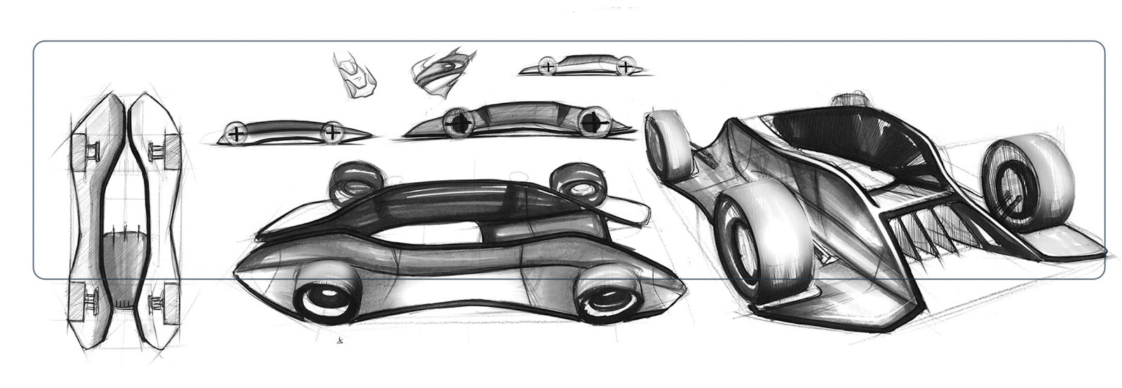 mclaren gt vision by rohan patel