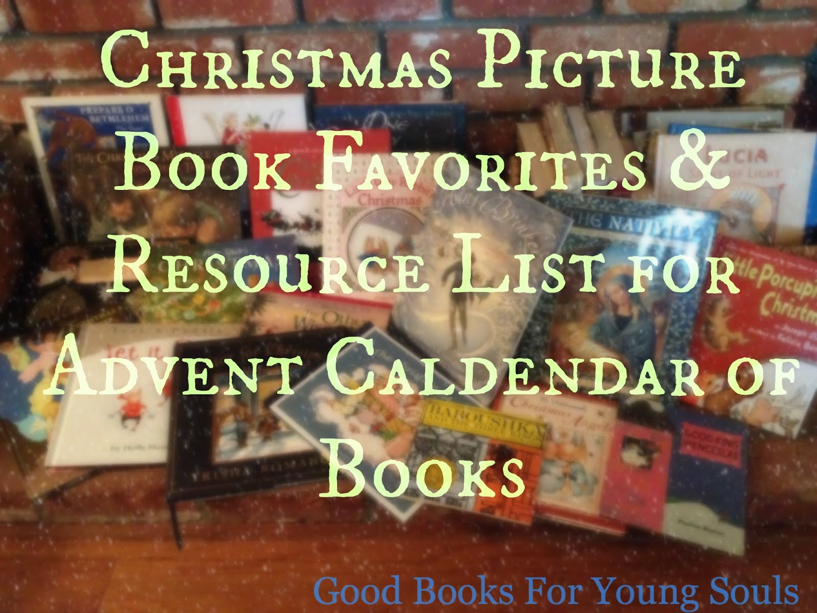 CHRISTMAS BOOK RESOURCE PAGE