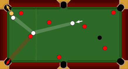 blackball pool rules combination shots