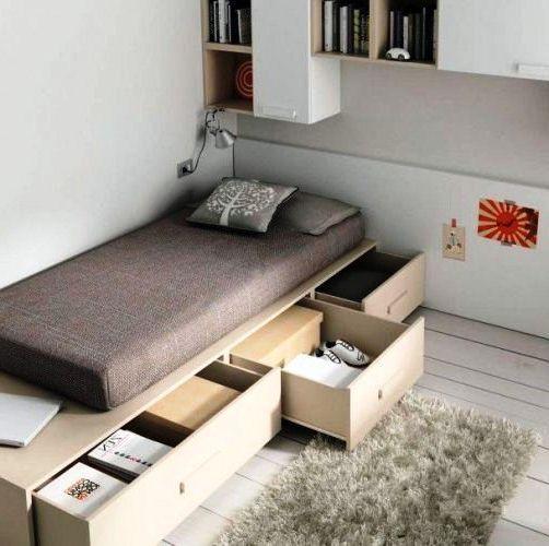 31 Desain Interior Kamar Tidur Sempit Ukuran 2x3 Minimalis ...