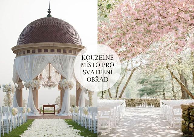 Místo pro svatbu a obřad vybírejte pečlivě