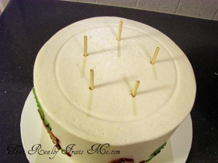 stacking wedding cakes dowels that really frosts me tier support 20477