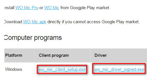 wo mic download tips