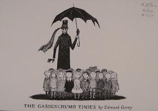 "An illustration for ""The Gashlycrumb Tinies."""