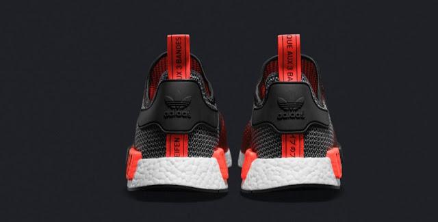 adidas NMD black red Brasil