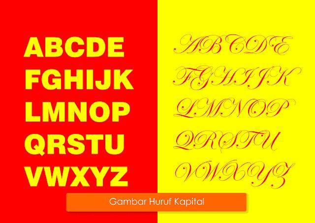 cara penulisan huruf kapital