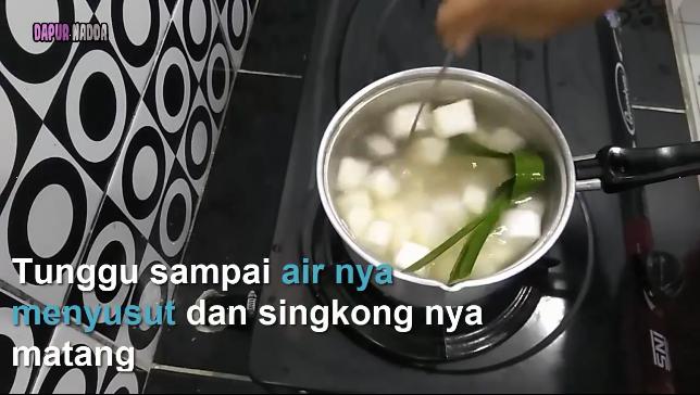 Resep Singkong Thailand - Dapur Nadda 3