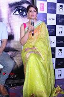Bollywood Actress Raveena Tandon in Transparent Green Saree at Trailer Launch Of Film Maatr  0019.JPG