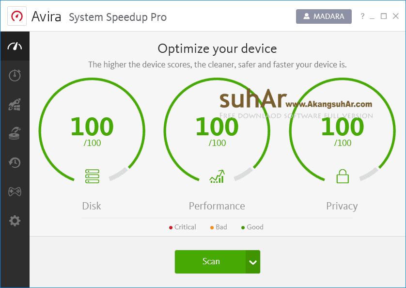 Free Download Avira System Speedup Pro Final Full Version, Avira System Speedup Pro Activation Code