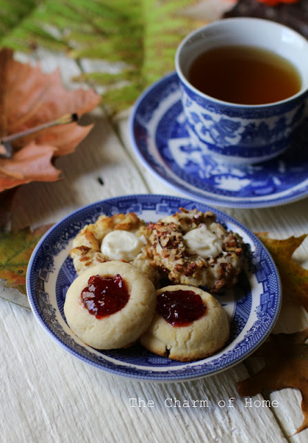 Cream Cheese Thumbprint cookies: The Charm of Home