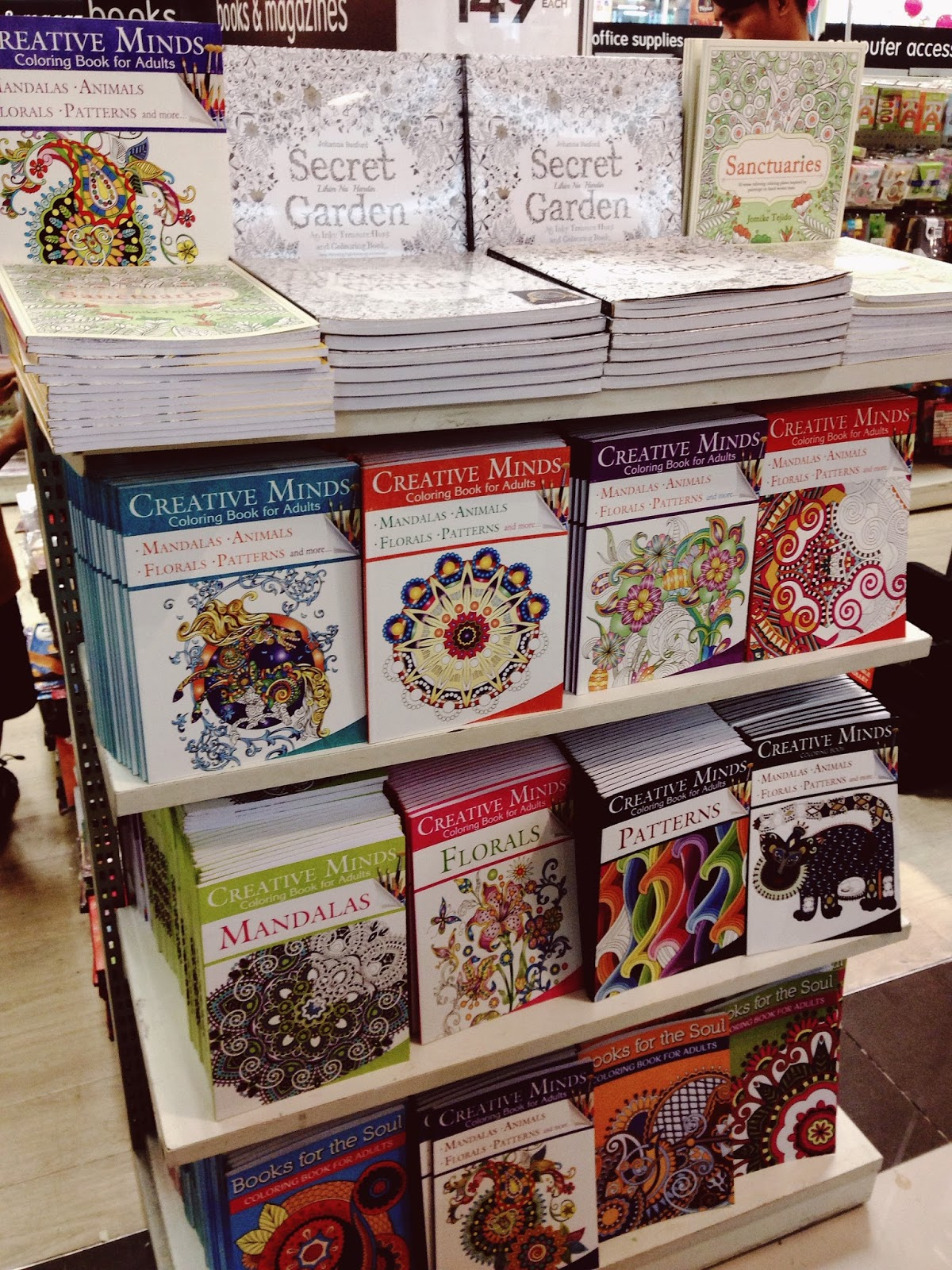 Mandala coloring book national bookstore
