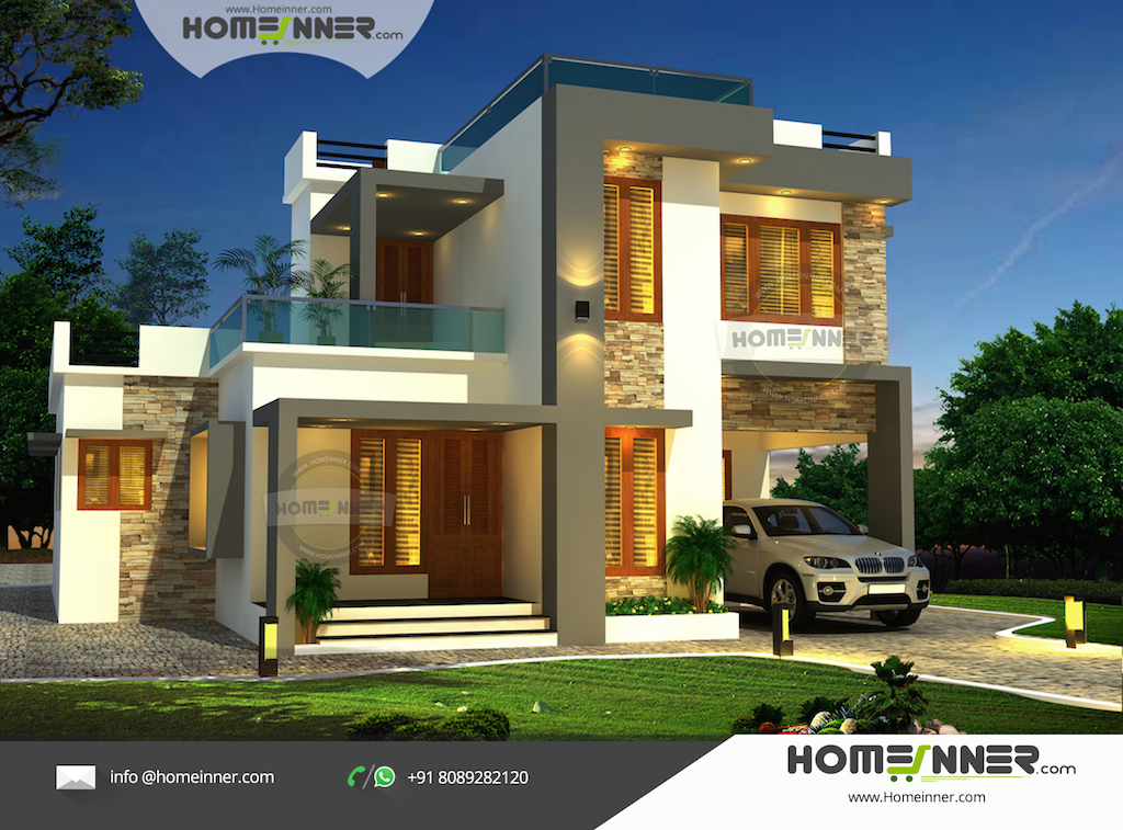 Modern Contemporary Style 3 Bhk Luxury Indian Home Design   Indian     Modern Contemporary Style 3 Bhk Luxury Indian Home Design