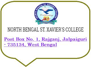 North Bengal St. Xavier's College, Post Box No. 1, Rajganj, Jalpaiguri - 735134, West Bengal