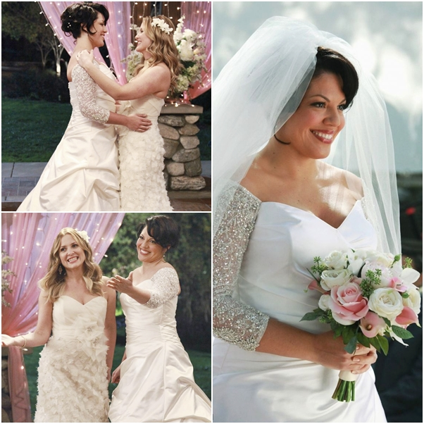 casamento Grey's Anatomy callie arizona