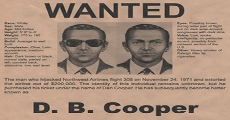 D.B. Cooper the Mystery of Disappearance Skyjacker