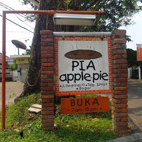 Pia Apple Pie, rumah Apel, Kuliner Bogor