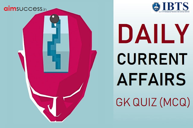 Daily Current Affairs Quiz : 09 September 2018