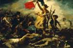 'La Libertad guiando al pueblo', de Delacroix, pintura romántica