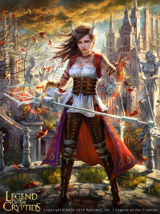 Laura Sava anotherwanderer deviantart ilustrações fantasia belas mulheres card games