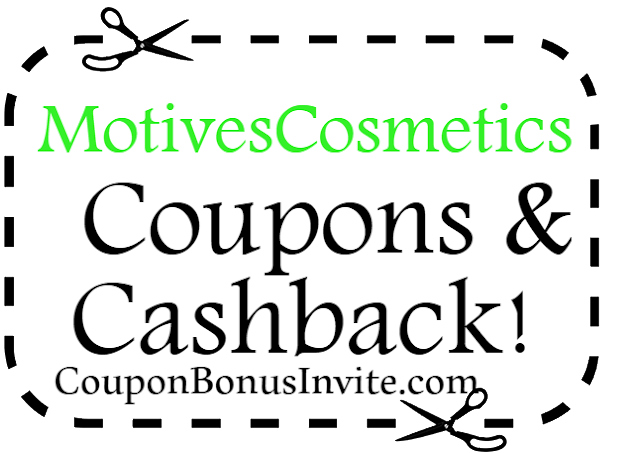 MotivesCosmetics.com Coupon Codes, Promo Codes & Discounts April, May, June, July, August, September 2017-2018