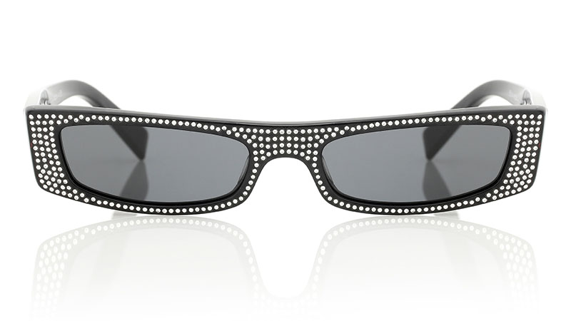 Alain Mikli x Alexandre Vauthier Edwidge Sunglasses with Crystals
