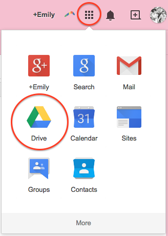 how to access shared google drive