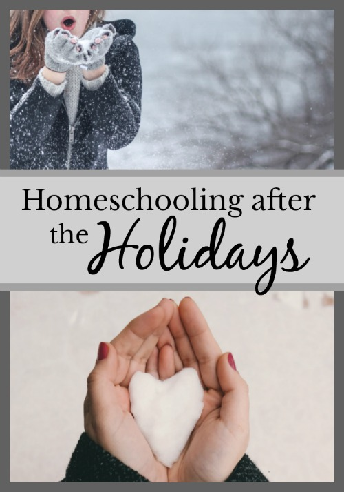 Homeschooling After the Holidays {because Christmas break can't last for ever}