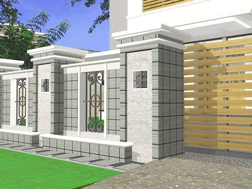 60 Desain Pagar Rumah Mewah Stylish Nan Elegan Rumahku Unik