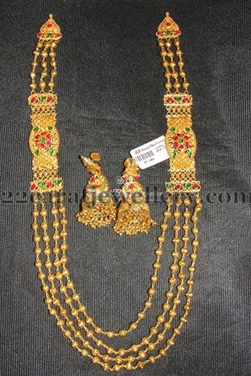 Chandra Haram By Surajbhan Jewellery Designs