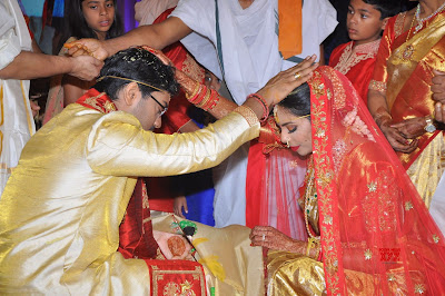 Producer-Rammohanrao-Daughter-Dedeepya-weds-Vishnu-Charan-Wedding6