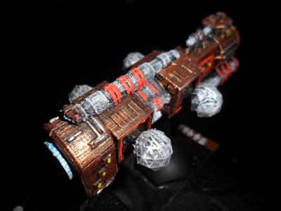 BSG01 Vydrosa Disruptor Battleship