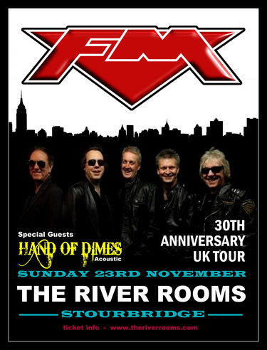 FM at Stourbridge River Rooms 23 Nov 2014 poster