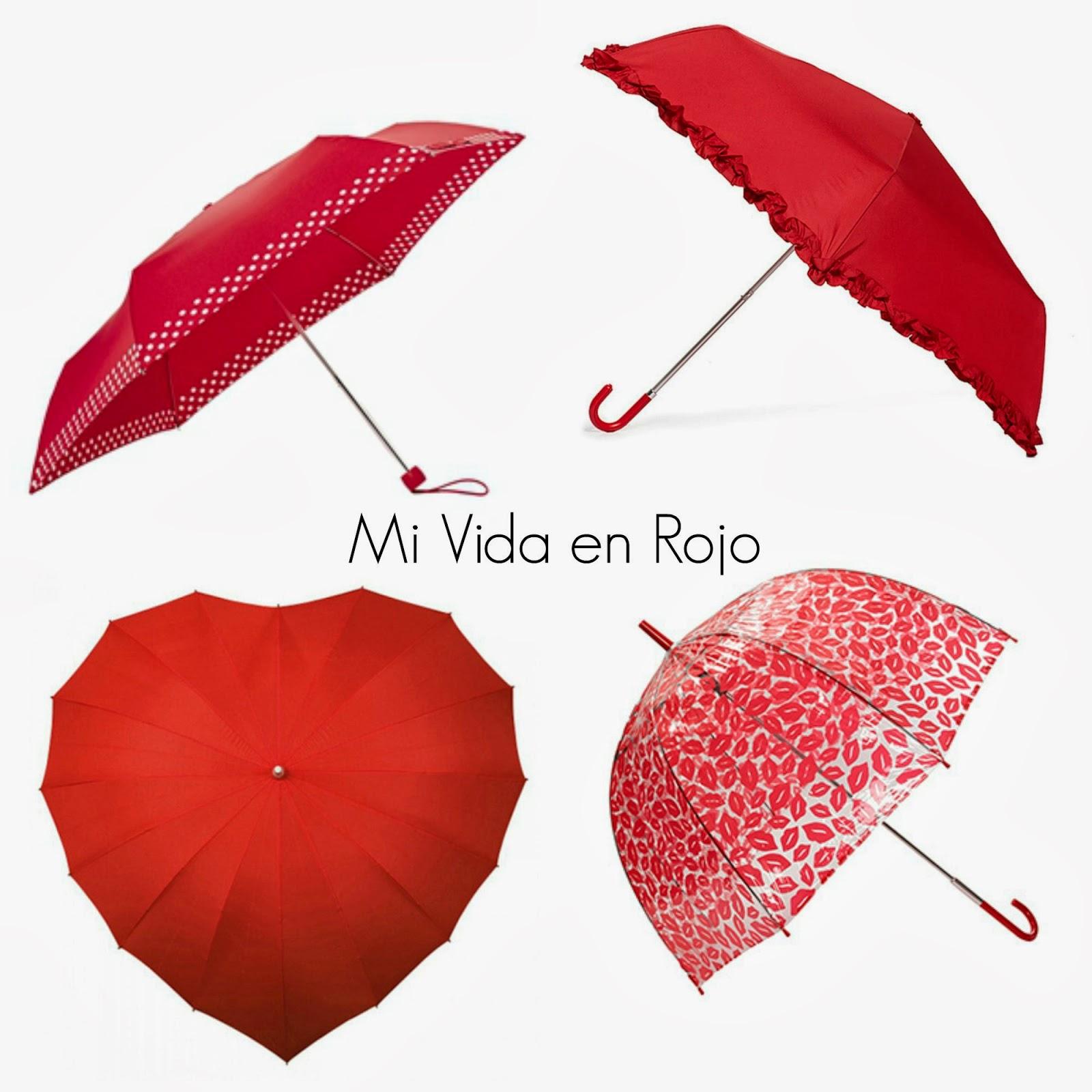 seleccione para el último nueva precios más bajos nuevo diseño Paraguas, ¡en ROJO! - Mi Vida en Rojo