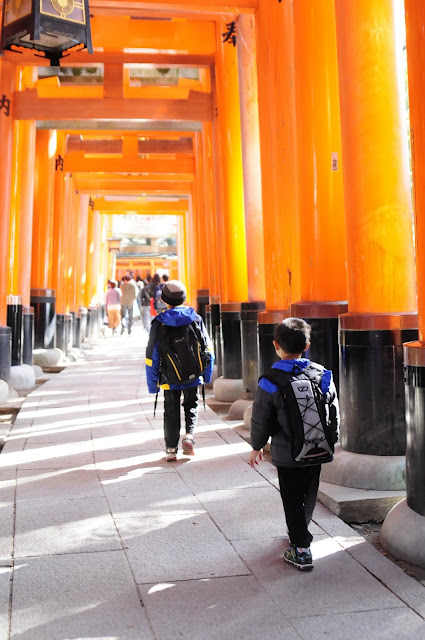 Kyoto Travel with kids Fushimi Inari