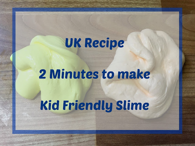 Mummy from the heart uk recipe fabulous fun 2 minute make kids over the last couple of weeks i have been testing out loads of slime recipes and trying to find one that works every time with uk ingredients ccuart Gallery