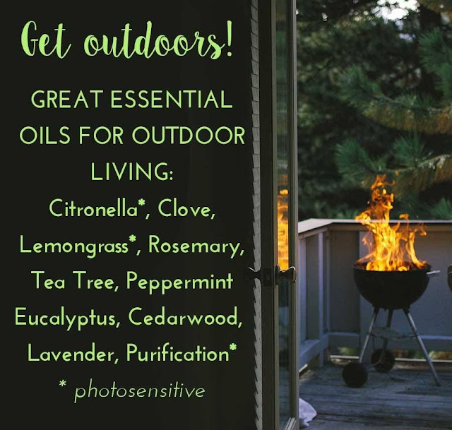 Get Outdoors with Essential Oils