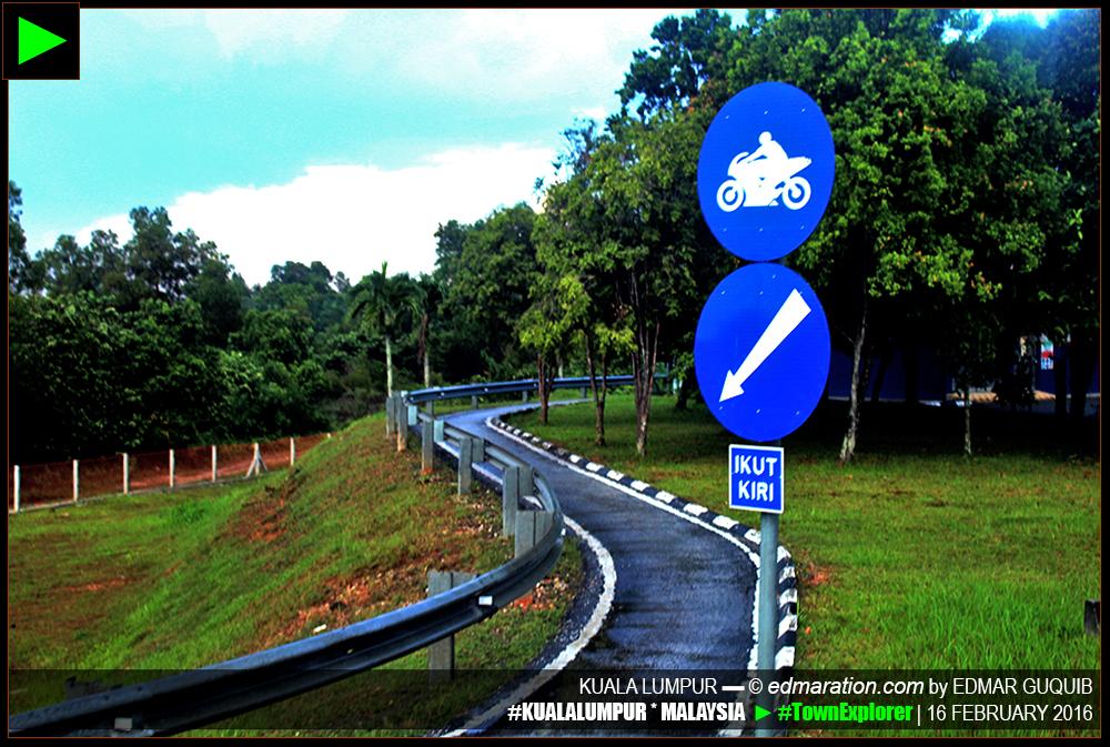 SEPANG, MALAYSIA MOTORCYCLE LANE