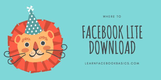 Facebook Lite Download   FB App APK