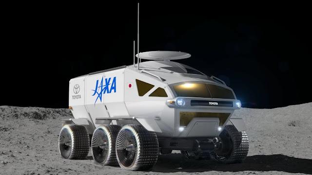 Moon rover Jepang akan dibuat oleh Toyota