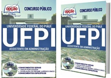 Apostila concurso UFPI 2017 Assistente em Administração