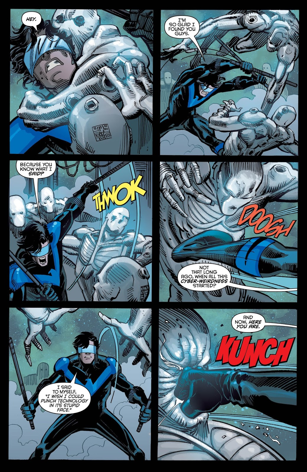 NIGHTWING #47 Page 3. Image Courtesy of DC Entertainment.