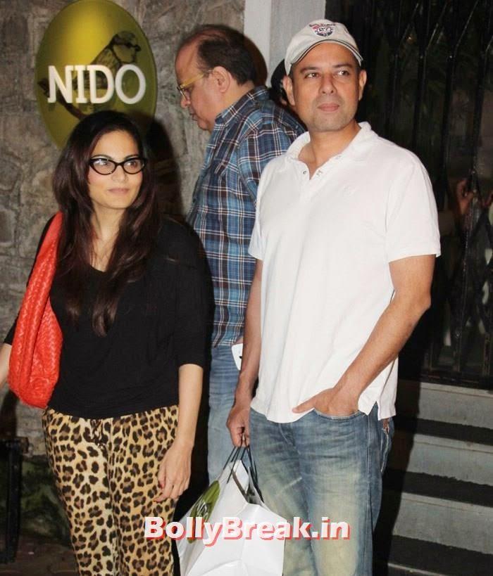 Alvira Khan, Atul Agnihotri, Kareena Kapoor, Alvira, Mehr Snapped at Nido