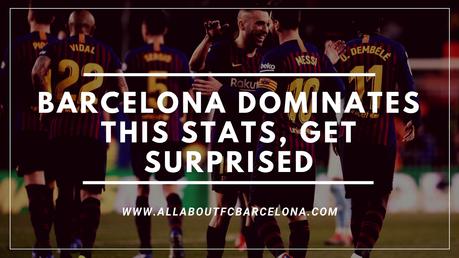 Barcelona Surprisingly is at the top of this Chart! You Would be Really Shocked!