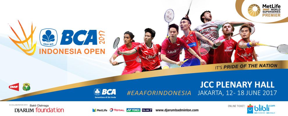 Bwf Indonesia Superseries Premier  Live Streaming Bca Indonesia Open