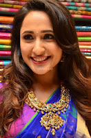 Pragya Jaiswal in colorful Saree looks stunning at inauguration of South India Shopping Mall at Madinaguda ~  Exclusive Celebrities Galleries 007.jpg