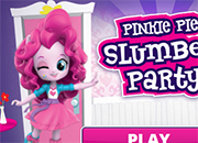 Pinkie Pie Slumber Party juego