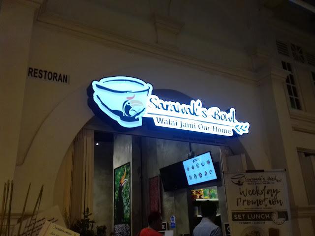 Rindu Makanan Sarawak? Jom makan dekat Sarawak's Bowl