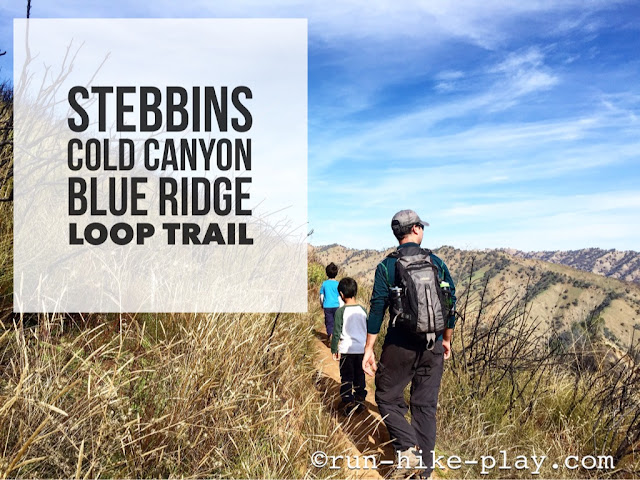 Hiking Stebbins Cold Canyon Blue Ridge Loop Trail