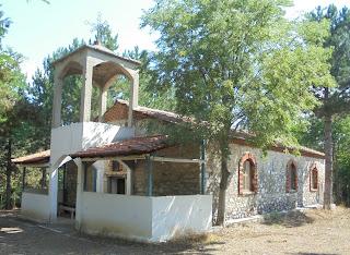 ο ναός του Προφήτη Ηλία στους Πύργους