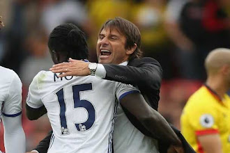 Fatigue Caused Moses Red Card - Conte